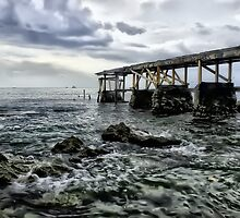 Broken Pier by John Felix
