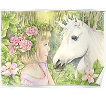 Princess and the Unicorn Poster