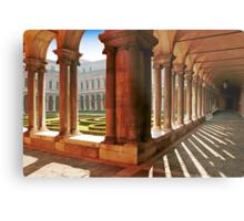 Venezia  - S.Giorgio Maggiore - Internal Cloister Metal Print