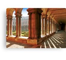 Venezia  - S.Giorgio Maggiore - Internal Cloister Canvas Print