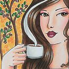 Coffee Girl 1 by Jaymilina