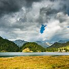 mountain lake at maloja by peterwey
