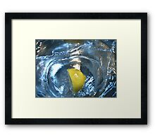 Splash Of Lemon  Framed Print