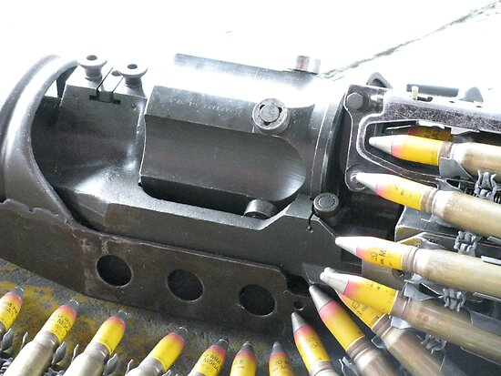 Plane Mounted Machine Gun Detail 1 by LNara