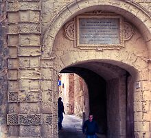 Greek's Gate - Mdina, Malta 2 by Jakov Cordina