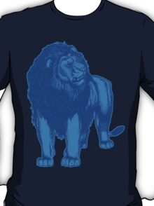 Blue Lion T-Shirts by Cheerful Madness!! T-Shirt