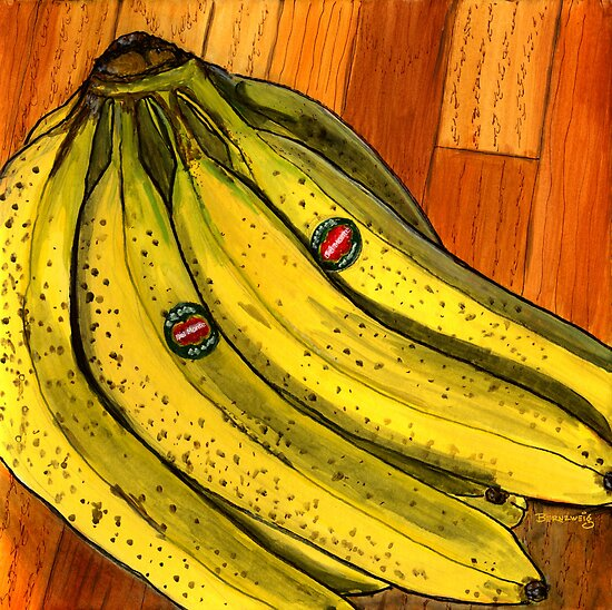 Bunch of Bananas by bernzweig