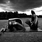 Henry Moore Sculpture by Bill Crookston