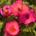 Poppies Painting by jpgilmore