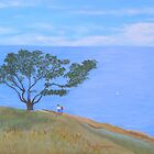 Tree At Pelican Hill by Thi Nguyen