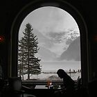 Lake Louise dining by Robyn Lakeman