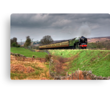 12:10 From Grosmont,North Yorkshire Canvas Print
