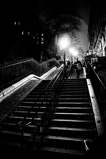 Montmartre staircase by Alex Howen