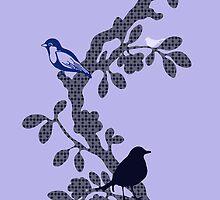 Bird Tree by Charlotte Harold