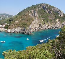 Corfu and Paleokastritsa by loiteke