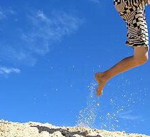 leaping legs by Susan Rees-Osborne