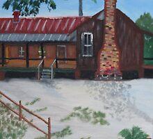 Florida Cracker House @ Silver River State Park Ocala Fl. by Warren  Thompson