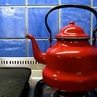 red kettle by Susan Rees-Osborne
