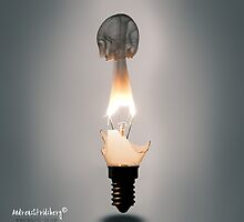 One more flaming bulb by Andreas Stridsberg