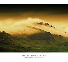 Misty Mountains by Andreas Stridsberg