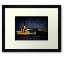 Home is the Sailor Framed Print