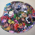 50 Blobs of Paint on my Favourite Palette = MUD by Peter Searle ( the Elder )