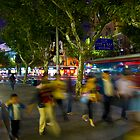 Motion on the streets of shanghai by Watzmann71