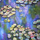 Monet Copy by Pamela Plante