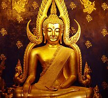 Gold Buddha by Dave Lloyd