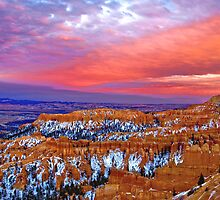 Bryce Canyon Sunset by photosbyflood