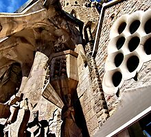 steeple. barcelona, spain by tim buckley   bodhiimages