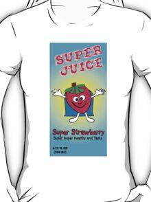 Super Juice Strawberry Juice Drink T-Shirt