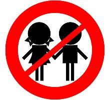 Children Banned Photographic Print