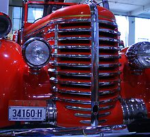 Diamond-T Fire Truck 2 by John Vandeven
