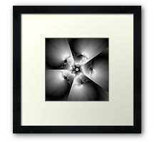 And Let There Be Light Framed Print