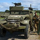 M3 Half-track by Peter Lawrie