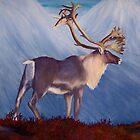 The Caribou by Dandelion Dilluvio
