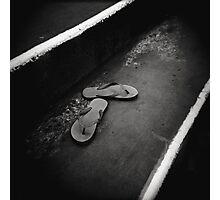 Sand Kicks Photographic Print
