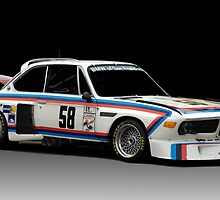 BMW 3.0 CSL by Kurt Golgart