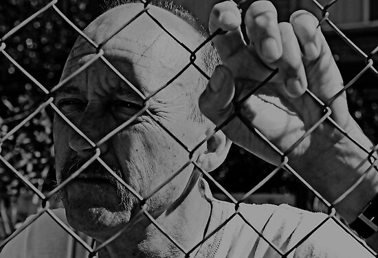 David C - Trapped - Soft B&W by tmac