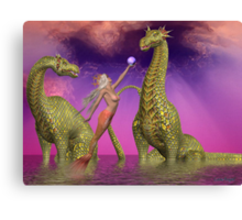 The gift of friends Canvas Print