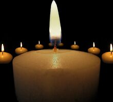 Candles 1 by Doug Gruber