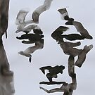 Ink Brush Portrait 4 by Josh Bowe