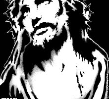 Jesus Stencil by masterplan