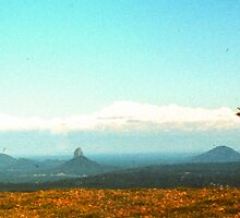 Glasshouse Mountains panned by georgieboy98