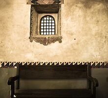 The Pope Was Here - Carmel Mission, California by Sophie Gonin