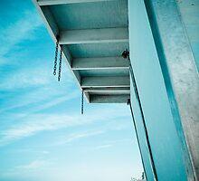 Blue Balcony by Sophie Gonin