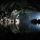 Awesome Lao cave by John Spies