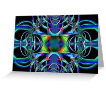 Fractal for People Who Love SiFi Greeting Card