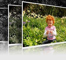Amelia in Spring Flowers by DonDavisUK